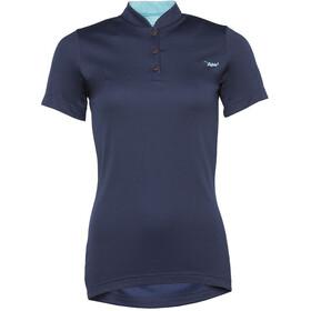 Triple2 SWET Merino Koszulka kolarska, krótki rękaw Kobiety niebieski